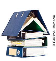 gjord, affär, hus, form, dokument, många
