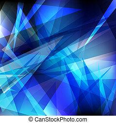 glänsande, geometrisk
