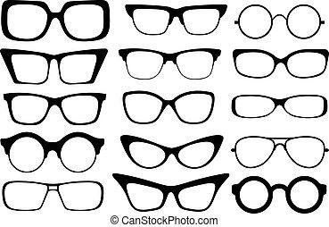 glasögon, mode