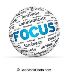 glob, fokusera