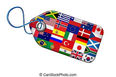 global, begrepp, marknadsföra