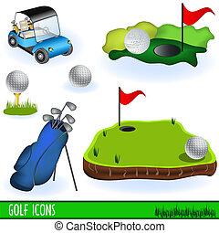 golf, ikonen