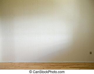 golv, vägg, trä, dagsljus, vit, sida