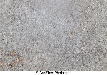 grå, gammal, bakgrund., vägg, struktur, konkret, space., tom, avskrift