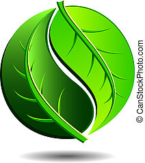 grön, ikon