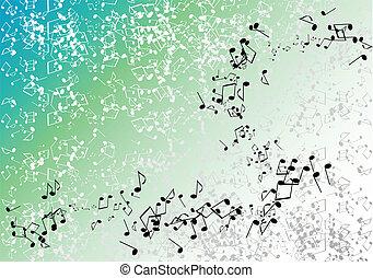 grön, musik