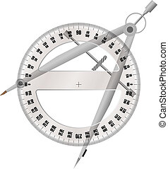 gradskiva, kompass