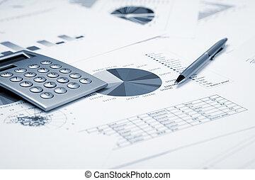 grafer, finansiell, topplista
