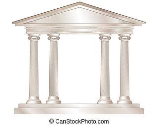 grek, tempel