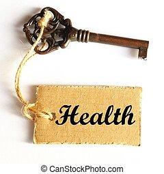 hälsa, nyckel
