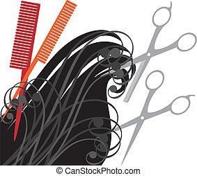 hårklippning