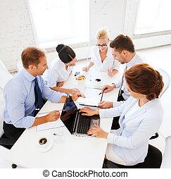 ha, möte, kontor, affärsverksamhet lag