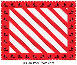 hasard, stripes, struktur
