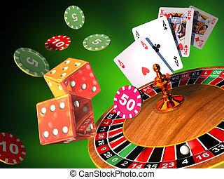 hasardspel, spel
