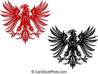 heraldik, örnar