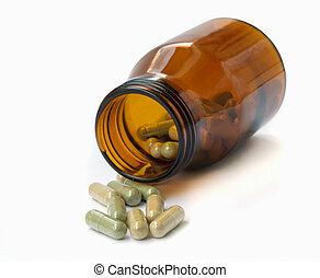 herbal, medicine.