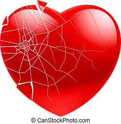 hjärta brutna