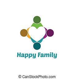 hjärta, familj