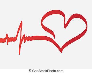 hjärta, taktslagen