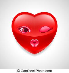 hjärta, tecken