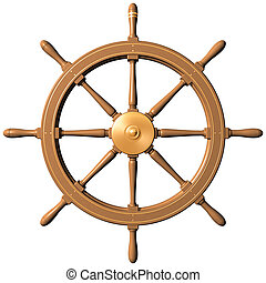 hjul, skepp