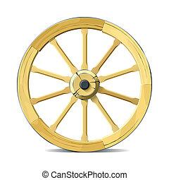 hjul, vagn
