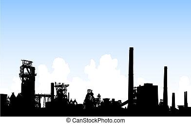 horisont, industriell