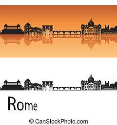 horisont, rom