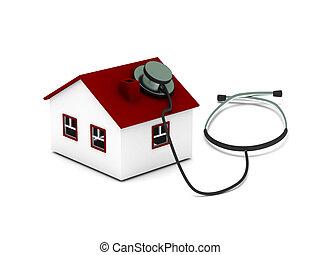 hus, diagnostik