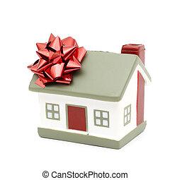 hus, dig, gåva