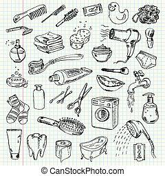 hygien, produkter, rensning