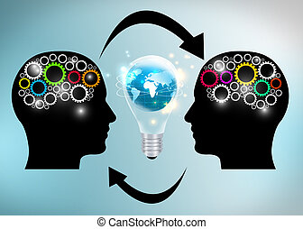 idéer, utbyte