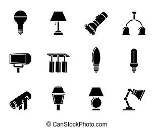ikonen, tändande utrustning