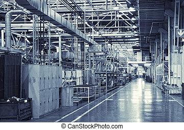 industriell, bakgrund