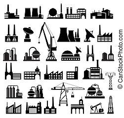 industriell, bebyggelse, 2