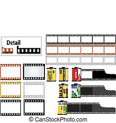 inramar, 35mm rutschar, film