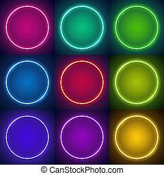 inramar, nio, neon, runda