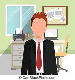 inre, workplace, kontor
