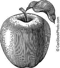 inrista, äpple