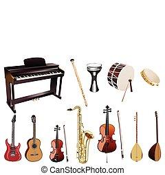 instuments, musik