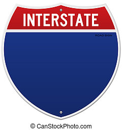 interstate, isolerat, underteckna