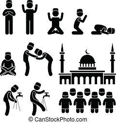islam, kultur, muslimsk, religion