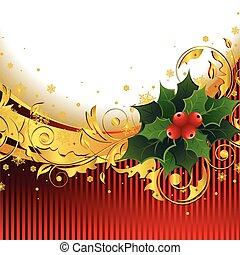 järnek, jul, bakgrund