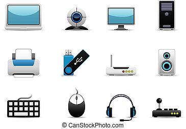 järnvaror, dator ikon