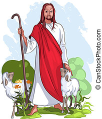 jesus, fåraherde, bra