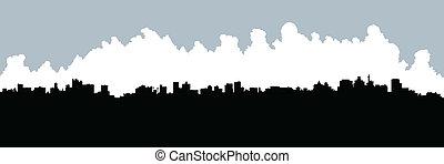 johannesburg, horisont