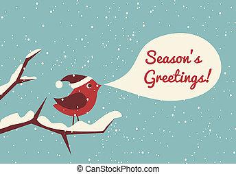 jul, fågel