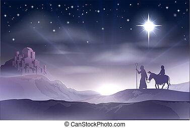 jul födelse, joseph, mary