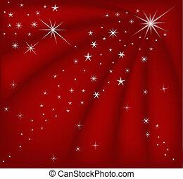 jul, röd, magi