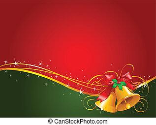 jul ringklockor, bakgrund